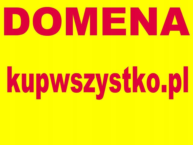 Domena www.kupwszystko.pl wejdź i kup wszystko
