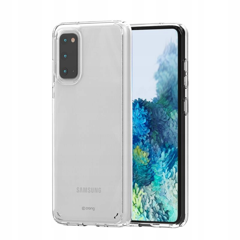 Crong Crystal Shield Cover - Etui Samsung Galaxy S