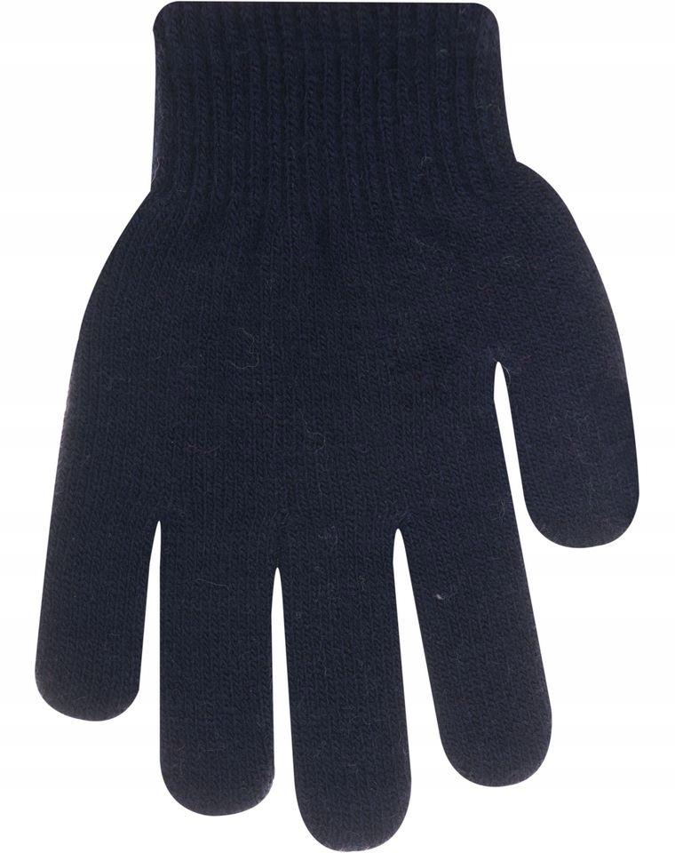 Yo!Rękawiczki magic z puszkiem 14 cm 5 palcowe gr.