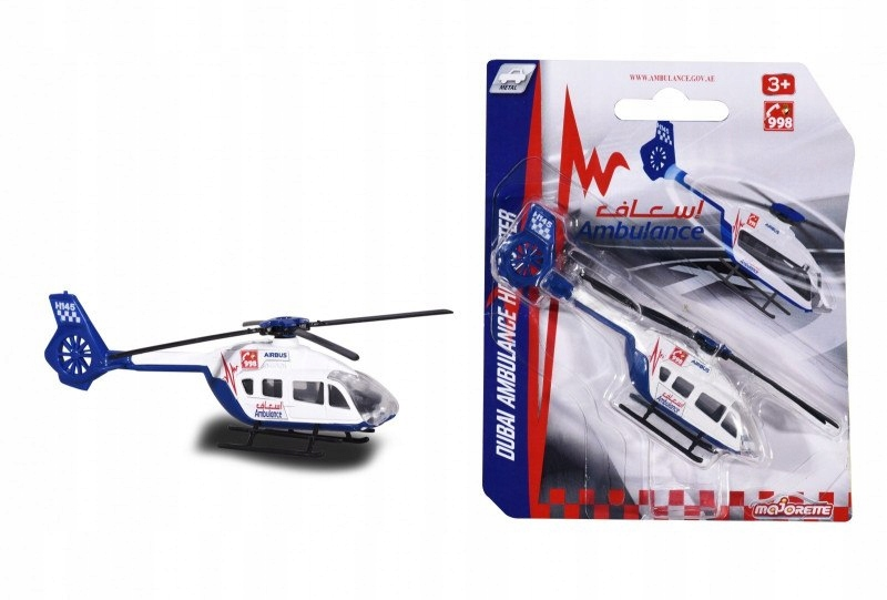 Helikopter Majorette, 6 rodzajów