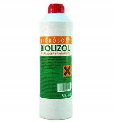 Biolizol Płyn Do Mycia Powierzchni I Urządzeń 0,5l