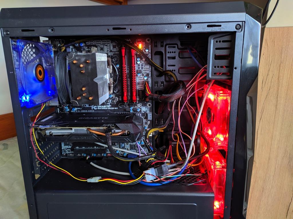 Komputer do gier i7 2600k 8x4,5GHz 16GB GTX1060 3G