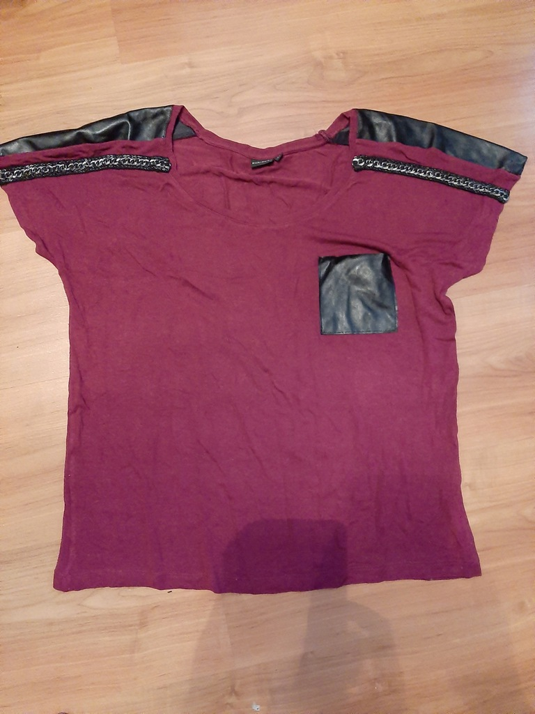 Bodyflirt bluzka oversize, wstawki 38/40
