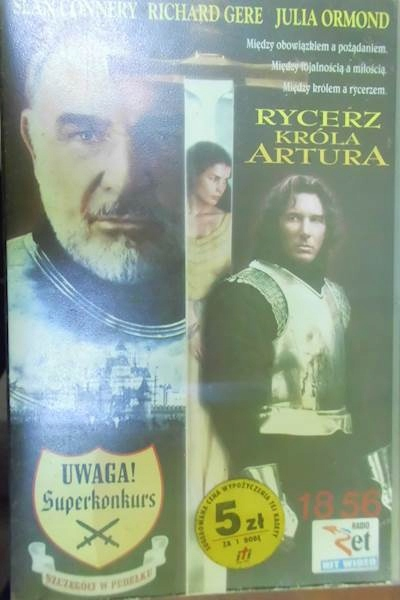Rycerz - Sean Connery Richard Gere Julia Ormond