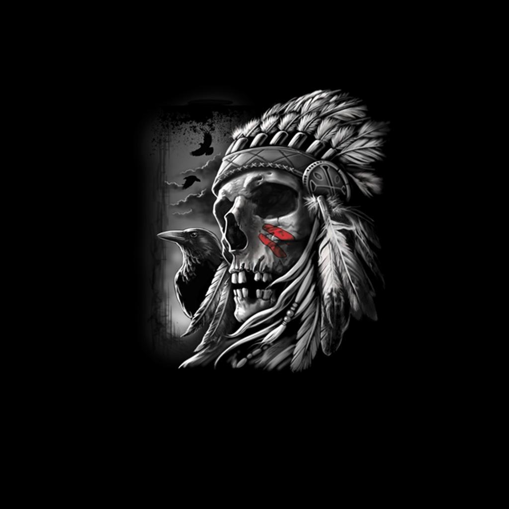 Pióropusz Indiański Kruk Bluza Męska Czerń 2XL