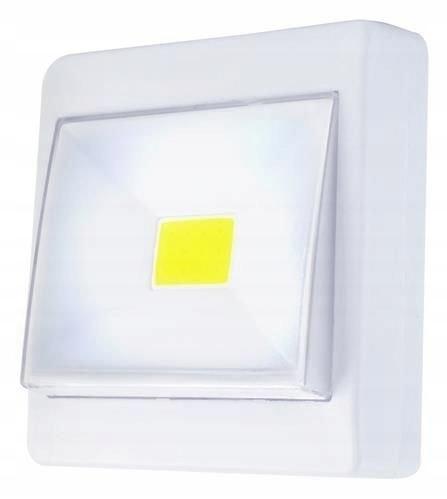 LAMPKA BEZPRZEWODOWA LAMPA LED NA BATERIE włącznik