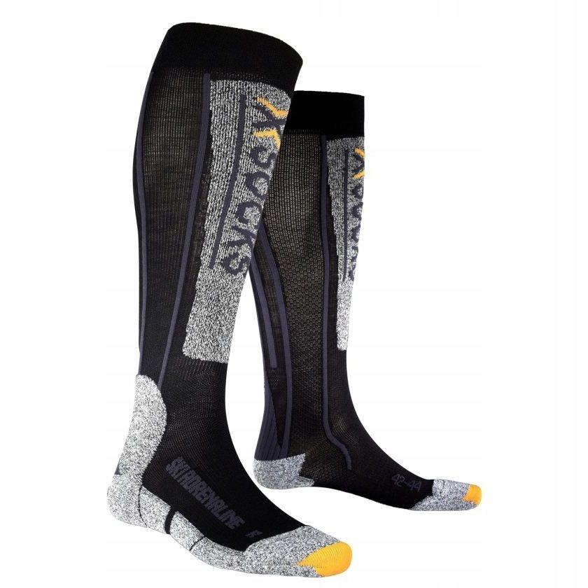 Skarpety X Socks Ski Adrenaline silver roz. 45 47