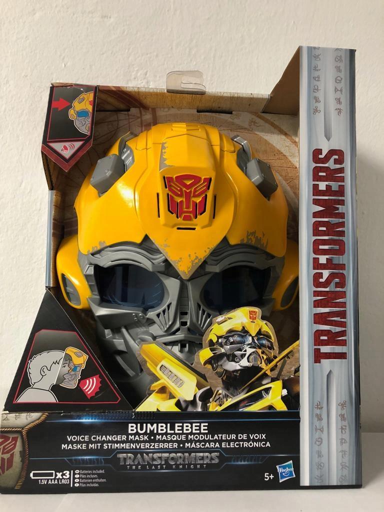 Transformers Maska SQWEEKS Hełm ZMIENIA GŁOS