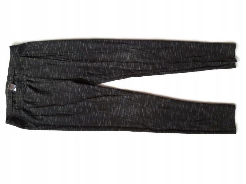 TU - szare legginsy melanż - r. 10 lat/140cm