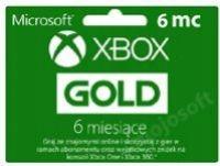 XBOX LIVE GOLD 6 MIESIĘCY KOD CYFROWY + GRATIS GRA