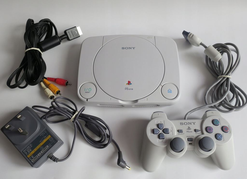 PS ONE PS1 SCPH-102 + DUAL SHOCK + KABLE PSONE