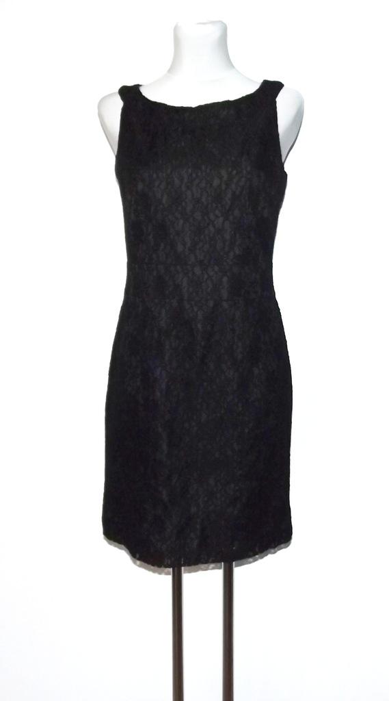 H&M koronkowa klasyczna sukienka 36/38