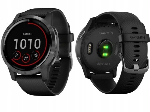 Zegarek sportowy Garmin Vivoactive 4 czarny