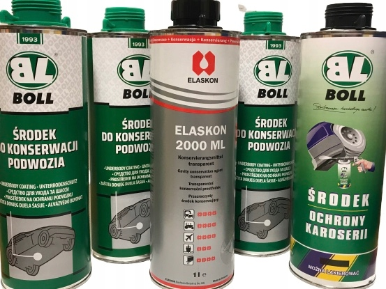 konserwacja podwozie 3L +elaskon1l +baranek 1l