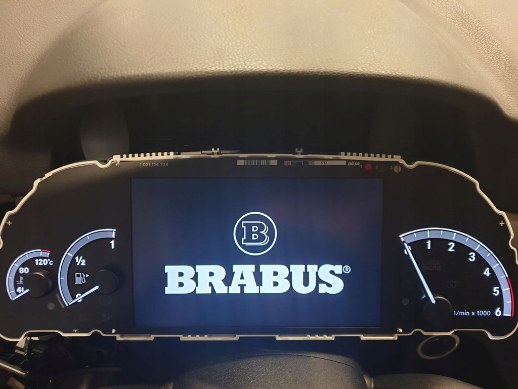 Mercedes S klasa W221 licznik BRABUS nie AMG 360km