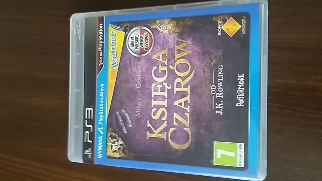 Gra PS3 Księga Czarów