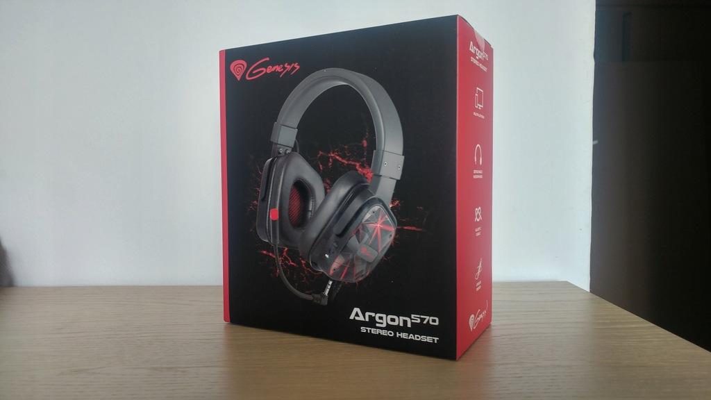 Słuchawki gamingowe GENESIS ARGON 570