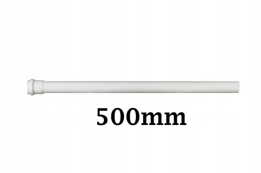RURA KANALIZACYJNA PVC 32/500 0,5m biała PCV