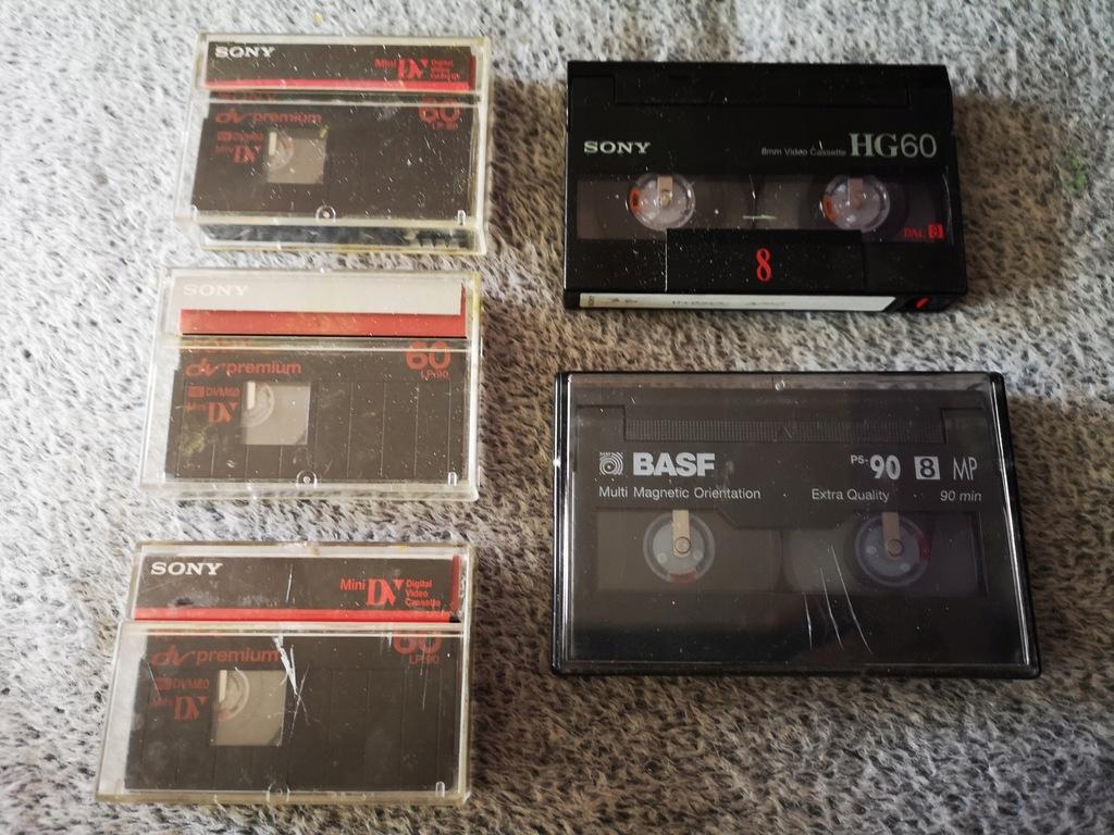 Kasety MINI SONY LP90 / Sony HG60 / BASF P5