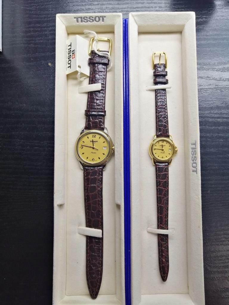 Komplet zegarków TISSOT Swiss Damski i Męski