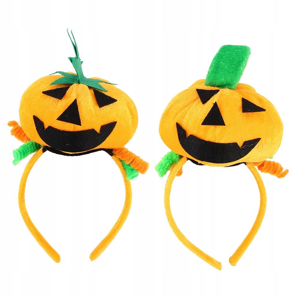2 sztuk Halloween Party Hairbands Pumpkin Ball Opa