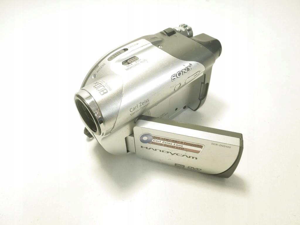 Kamera DVD RRW SONY Handycam DCR DVD105E (V069)
