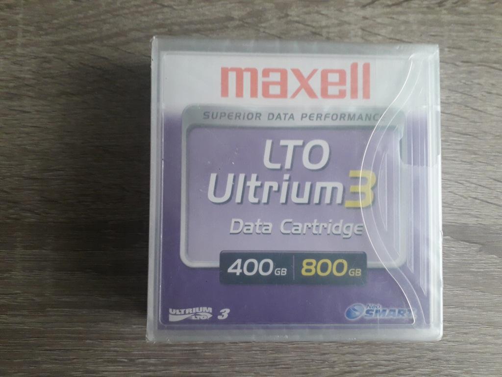 MAXELL 400GB/800GB LTO ULTRIUM3