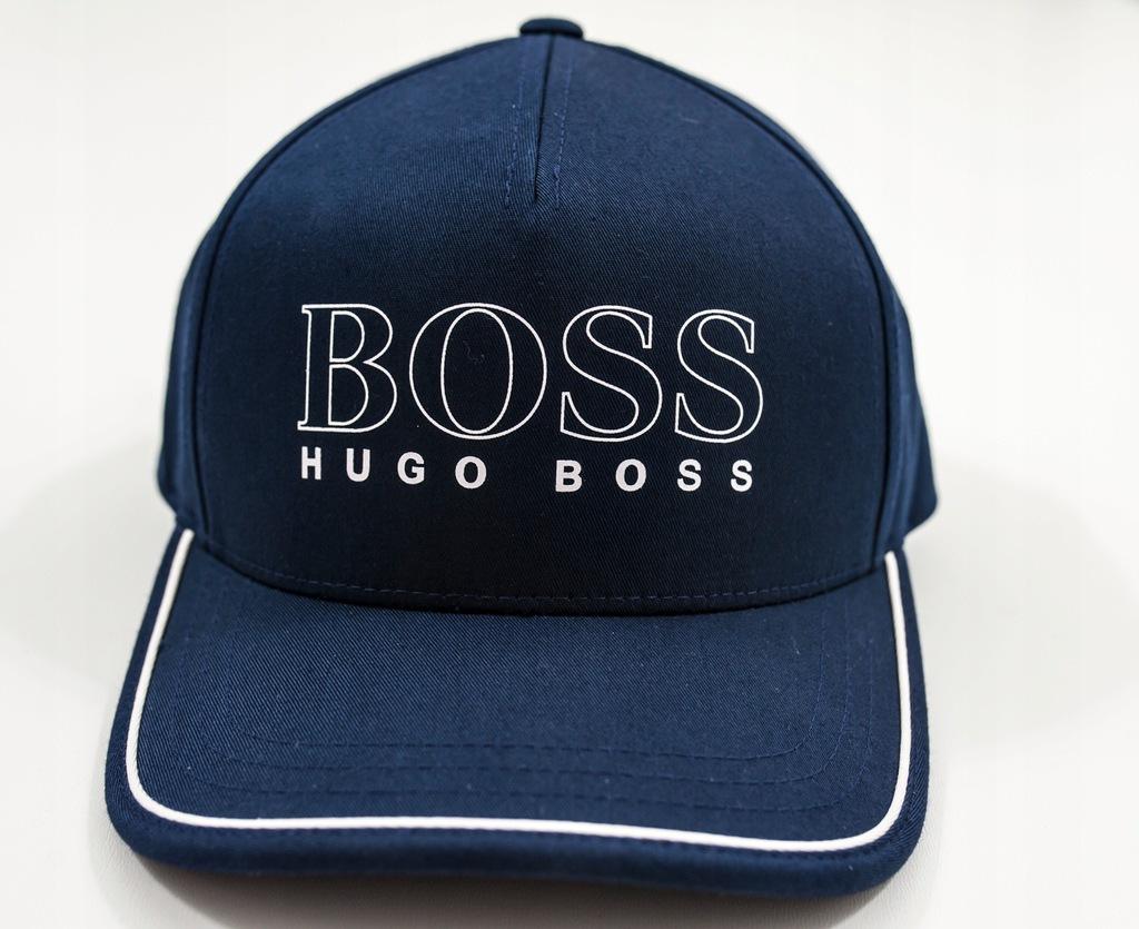 Hugo Boss Green Czapka bejsbol męska mientus/Łódź