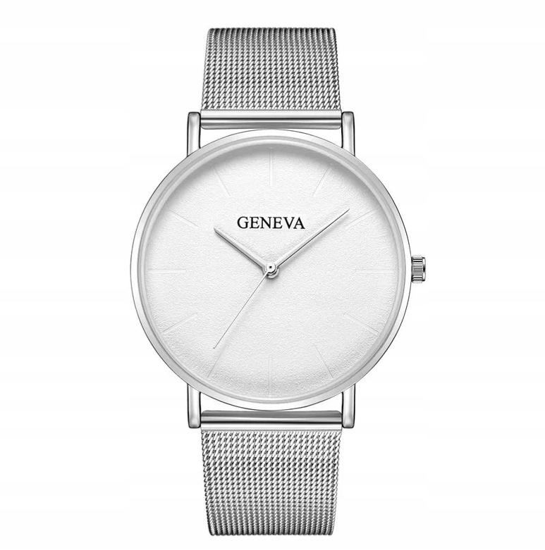 Zegarek Geneva SREBRNY