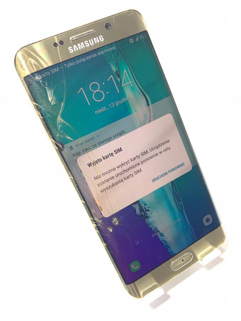 SMARTFON SAMSUNG GALAXY S6 EDGE PLUS ! G928F K415