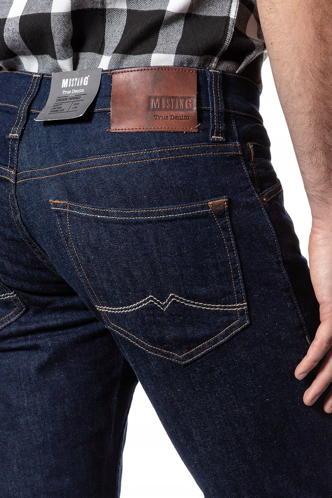 Mustang Men/'s Jeans Oregon Tapered 3116-5357-590 Rinse Washed