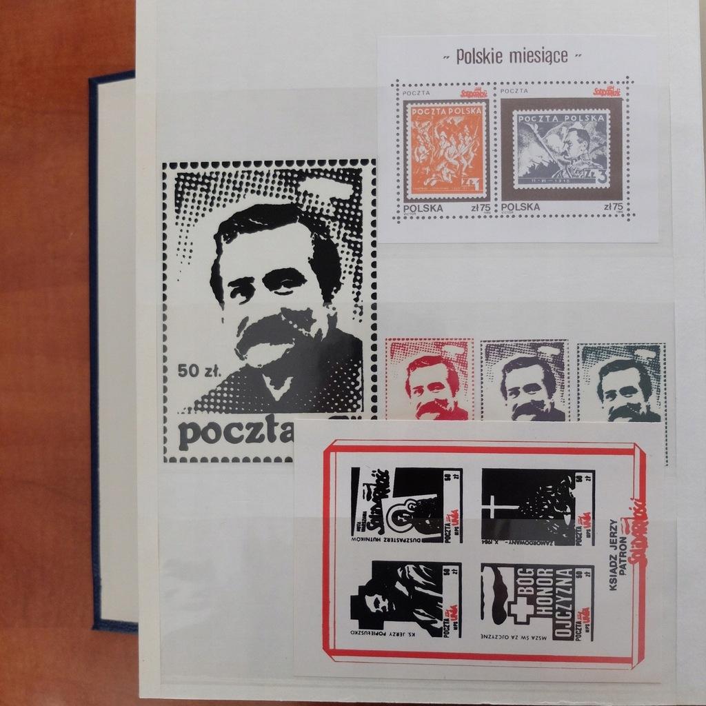 Zestaw Znaczków Solidarność BCM(653B)(RZ)