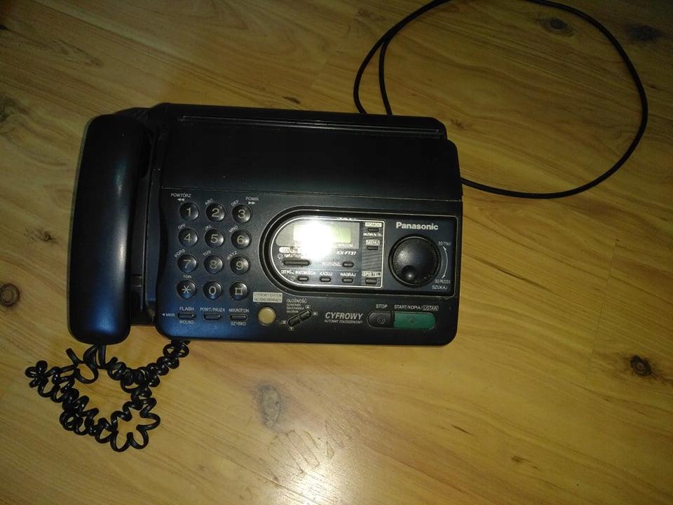 Telefon Fax Panasonic kx-ft37pd w bdb stanie