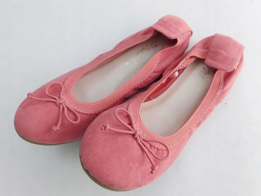 2204d141 NEXT buty DZIECIĘCE baleriny RÓŻOWE 30