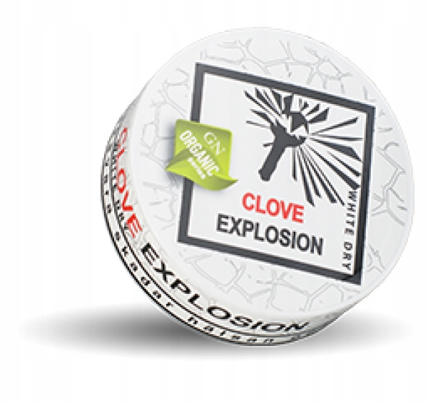 GN Organic Clove Expl. pudelka do kolekcji od snus