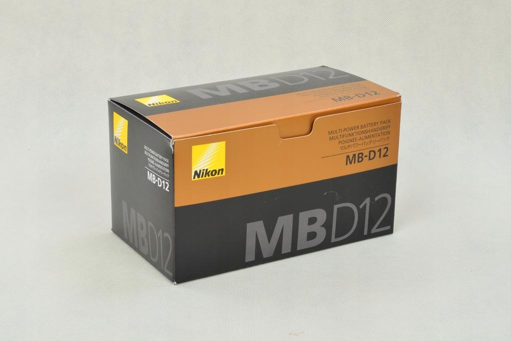 ORYGINALNY GRIP MB-D12 do NIKON D800 D810 jak NOWY