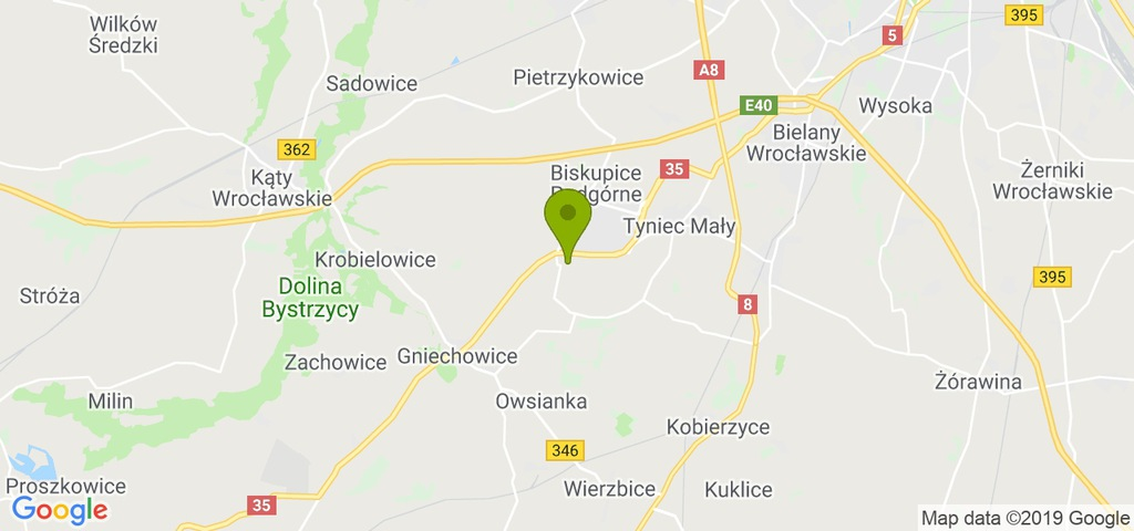 Działka Kobierzyce, wrocławski, 2300,00 m²