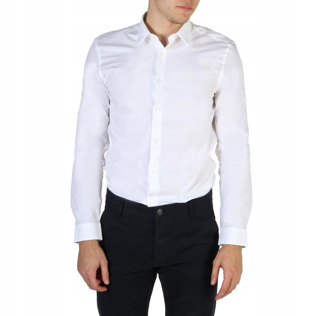 Calvin Klein męska koszula biały 38