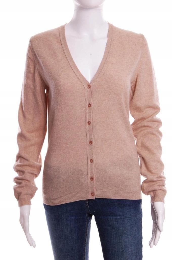 13115 Beżowy damski sweterek