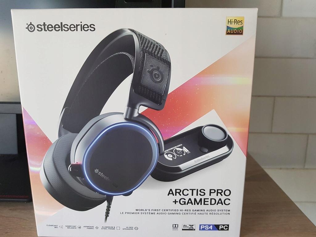 SteelSeries Arctis Pro + GameDAC/ GWARANCJA OKAZJA