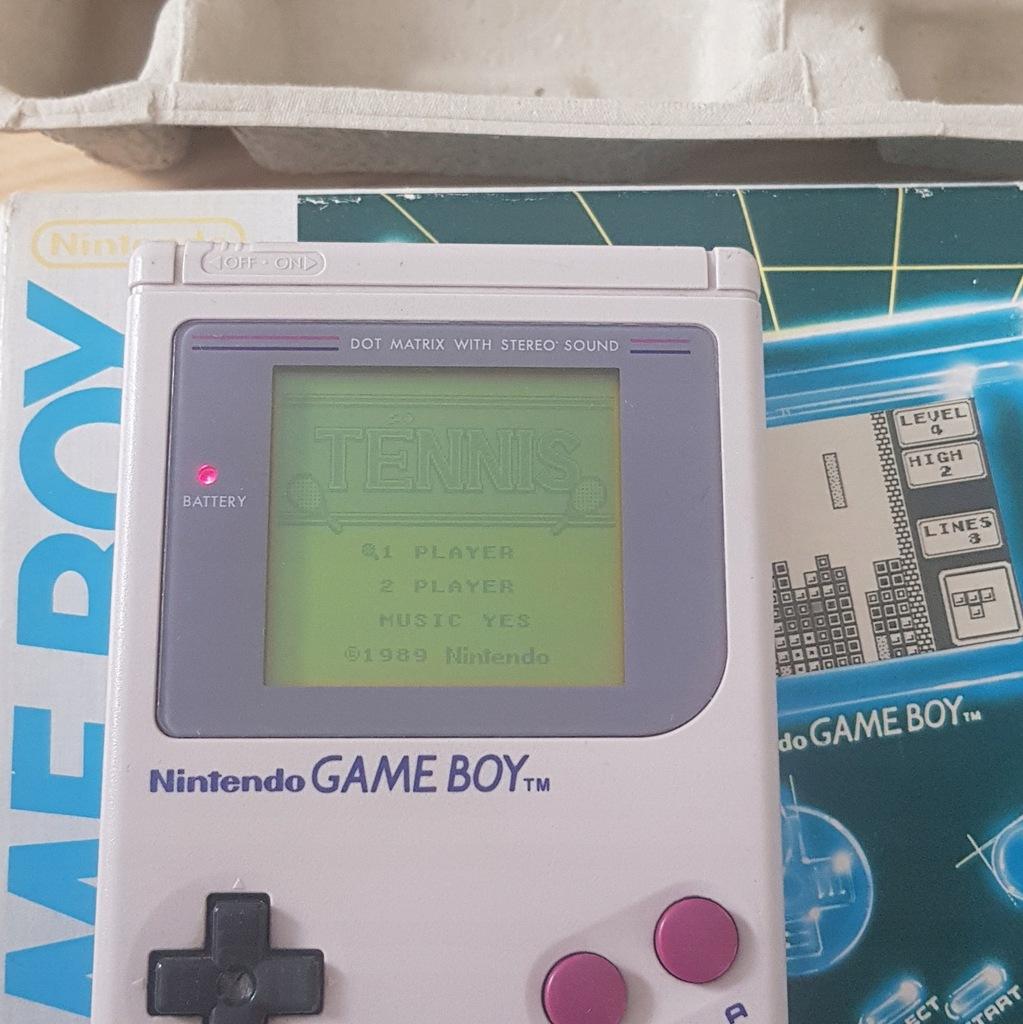 Nintendo Game Boy Classic komplet kolekcjonerski