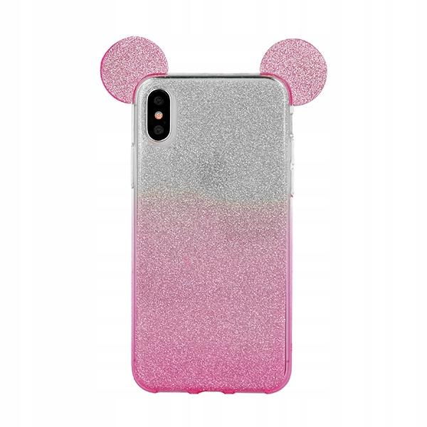 Etui SHINING Mouse Samsung Galaxy A50 + SZKŁO