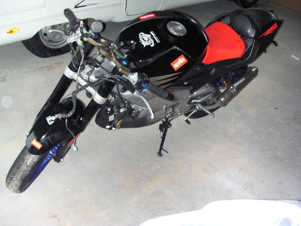 APRILIA RS 125 Czacha Owiewka Cylinder Ogon ORYGIN