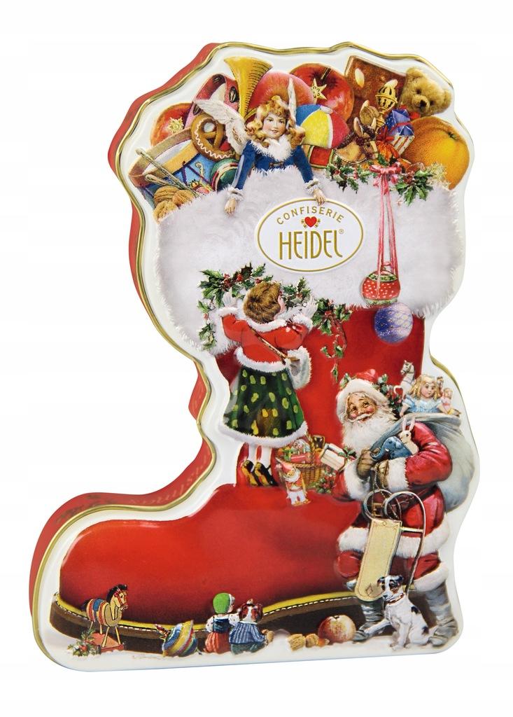 Zestaw świątecznych czekoladek Mikołajki święta