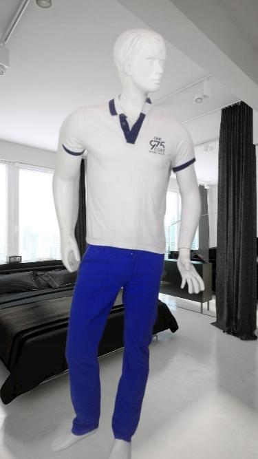Jack Jones biała koszulka bluzka