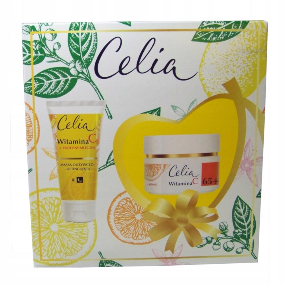 Celia 65+ 50ml krem + 60ml maska przeciw starzeniu