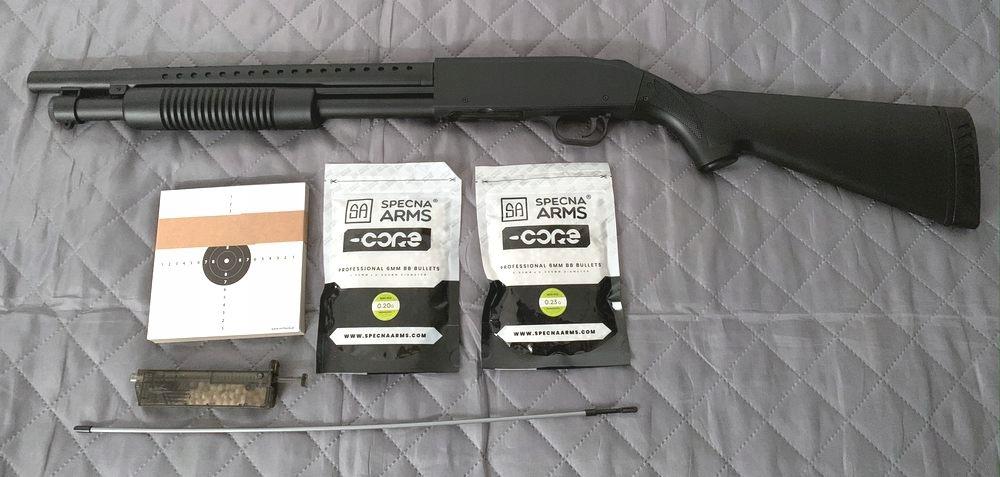 Strzelba ASG Mossberg 590 K MP003A 300 FPS + KULKI