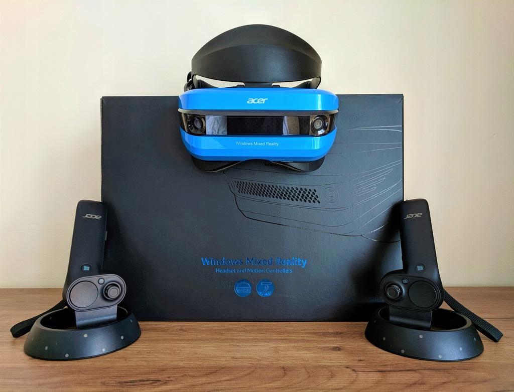 Acer Windows Mixed Reality - Gogle VR + 2 kontrol