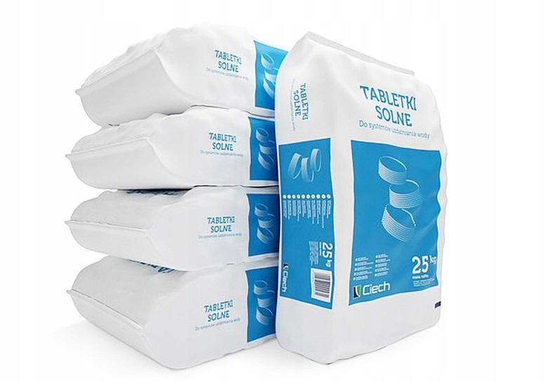 Tabletki solne CIECH sól tabletkowana min. 1000kg