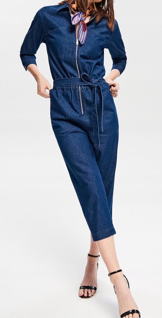 Reserved NOWY jeansowy kombinezon, śliczny XS/34